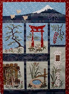 Japanese quilt-I love this idea