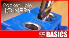 WWMM BASICS ►► How to get started using pocket-hole joinery. Pocket screws are easy to use and allow anyone to make awesome projects with very little experience.