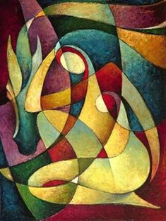 lovely gifts by orit hen on Etsy Art Pictures, Art Images, Modern Art, Contemporary Art, Cubism Art, Arte Pop, Indian Art, Figurative Art, Creative Art