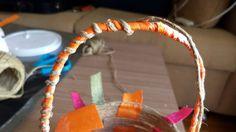 DIY Καλαθάκι από σπάγκο και κορδέλες! | Φτιάξτο μόνος σου - Κατασκευές DIY - Do…
