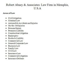 Insurance Law, Corporate Law, Criminal Law, Personal Injury, Memphis, Automobile, Commercial, Construction, Business