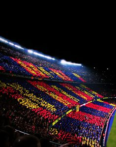 Camp Nou - Barcelona By: Héctor Alberto Barcelona Futbol Club, Camp Nou Barcelona, Barcelona Team, Messi Soccer, Soccer Stadium, Football Stadiums, Ronaldo Soccer, Fc Barcelona Wallpapers, Leonel Messi