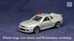 TOMICA 085C NISSAN SKYLINE GTR R33 #WHEELSWAP #LOWDOWN | v.16 | FIN SILVER Nissan Skyline Gtr R33, Old Models, Diecast, Auction, Silver, Tomy, Money