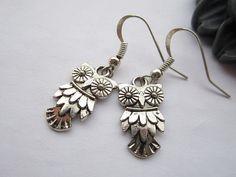 owl earrings!    $2.50