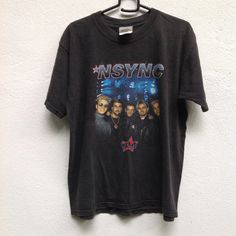 Vintage 90s NSync Line Up Justin by Hariskita on Etsy