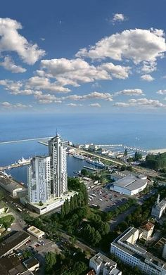 Sea Towers - Gdynia, Poland