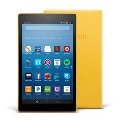 "Amazon Fire HD 8 Tablet E-Reader w/ Alexa, 8"" HD Display, 16 GB – Canary Yellow https://qdiz.com/?p=2849"