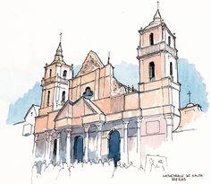 ARGENTINA008 | Cathédrale Salta | Carnets de BRU | Flickr