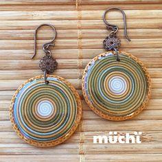 Polymer clay earrings - pendientes de arcilla polimérica - fimo