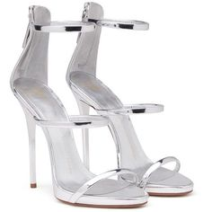 Giuseppe Zanotti Harmony ($845) ❤ liked on Polyvore featuring shoes, sandals, platform sandals, patent leather shoes, strappy sandals, zipper sandals and strap platform sandals