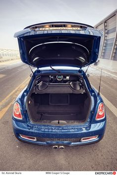 For these, who needs bigger trunk - Mini Cooper S Coupe ;)