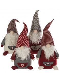 Christmas Gonks Standing, 4a @ rosefields.co.uk