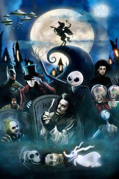 O fantástico mundo de Tim Burton