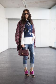 Street Style: Los looks de influencers modelos e invitadas a Madrid Fashion Week