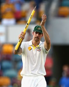Mitchell Johnson finished with nine wickets in the Test, Australia v England, 1st Test, Brisbane, 4th day, November 24, 2013 Best Bowler in the world at this time.