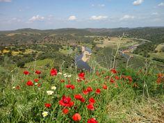 "View from ""Castelo de Noudar"", Barrancos, Portugal"