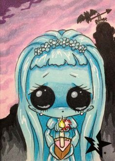 The Bride from The Haunted Mansion by Michael Banks (Sugar Fueled)