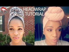 Head Wrap Styles For Natural Hair Natural Hair  Head Wrap For The Gawds Tutorialdemo  Youtube