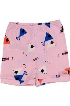 Shorts de algodão macio com estampa pink indians! http://www.nanapetit.com.br/shorts-rosa-indios-p1020/