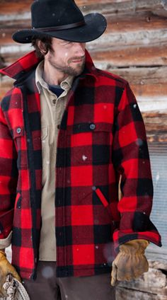 Woolrich as we know it. Buffalo Plaid + Wool = Pure Tradition. #woolrich1830