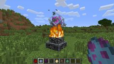 Minecraft Ender Dragon Egg Mod | Primed TNT (explodes immediately when placed):
