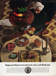 1964 Mackeson Beer - Curry (Click picture for more details)