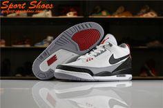 4dd66db2459 Latest Air Jordan 3 Retro Tinker AQ3835-160 Womens Sneakers Black White Grey