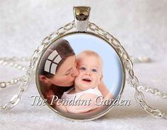 CUSTOM PHOTO PENDANT Personalized Necklace by ThePendantGarden