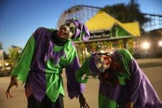 Demented Jesters - Photo © Six Flags America