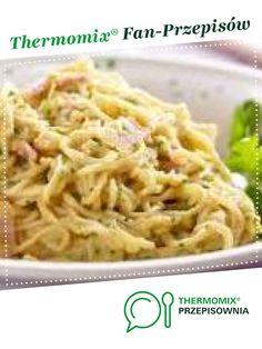 makaron z boczkiem,szynka i serem plesniowym jest to przepis stworzony przez użytkownika edytka_33. Ten przepis na Thermomix<sup>®</sup> znajdziesz w kategorii Makarony i dania z ryżu na www.przepisownia.pl, społeczności Thermomix<sup>®</sup>. Calzone, Macaroni And Cheese, Spaghetti, Meat, Chicken, Ethnic Recipes, Food, Thermomix, Mac And Cheese