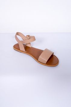 Ankle Strap Flat Sandals