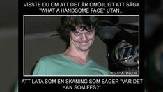 Roliga bilder i mängder. Bildsamlingar, animerade giffar och riktigt roliga bilder på människor, djur, platser och saker. Memes Humor, Funny Memes, Funny Gifs, Funny Shit, Funny Stuff, Swedish Quotes, Funny Cute, Hilarious, Try Not To Laugh