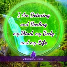 Today's Affirmation: I Am Detoxing And Healing My Mind, My Body And My Life <3 #affirmation #coaching It is not enough just to repeat words, while repeating the affirmation, feel and believe that the situation is already real. This will put more energy into the affirmation.