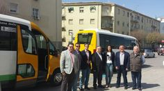 Los nuevos microbuses municipales no cubren las necesidades de la zona sur de Jaén