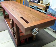 Groggy's Roubo Workbench
