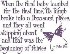 love - beginning of fairies