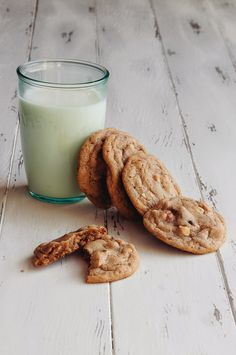 Hazelnut Milk Chocolate Chunk Cookies