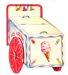 Little old man use to come around our neighborhood and sold us ice cream from one of these little freezers...