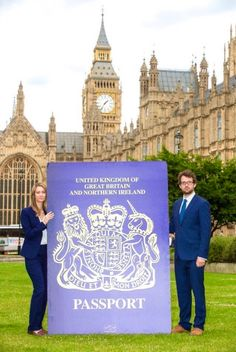 """Boris Johnson's design for ""Great"" British passport condemned as impractical"" Little England, British Passport, Kingdom Of Great Britain, Great British, Northern Ireland, Barcelona Cathedral, Big Ben, United Kingdom, Travel"