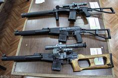ВСС Винторез, АС Вал и СР-3М (VSS Vintorez, AS Val and SR-3M rifles)