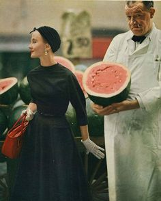 Would you like some watermelon, miss?