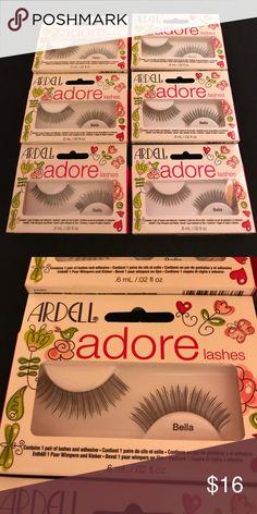Ardell Bella False Eyelashes. 6 pair New Ardell Bella False Eyelashes. 6 pair New Price is for all of them. Sephora Makeup False Eyelashes