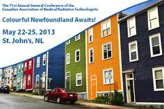 Colourful Newfoundland Awaits Medical Radiation Technologist, Newfoundland And Labrador, General Conference, Outdoor Decor