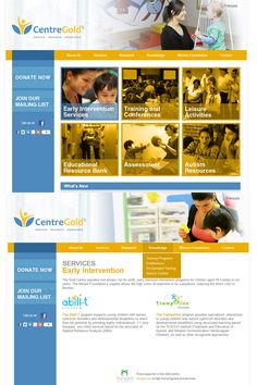 Newly redesigned website for Gold Learning Centre, a private, not-for-profit organization supported by the Miriam Foundation with a mission to develop services, research and knowledge transfer, as well as provide programs to support people with autism spectrum disorders and developmental disabilities. www.goldlearningcentre.com #webdesign #webdevelopment #montreal #grafikadesigns #nonprofit #autism