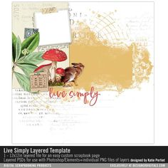 Live+Simply+Layered+Template