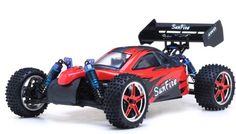 1/10th 2.4Ghz Exceed RC Brushless PRO 2.4Ghz Electric SunFire RTR Off Road Buggy (DD Red)