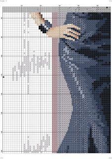 los gráficos del gato: DAMA ELEGANTE Cross Stitch Collection, Elegant Woman, Persona, Cross Stitch Patterns, Fancy, Libra, Stitching, Graphics, Cross Stitch Embroidery