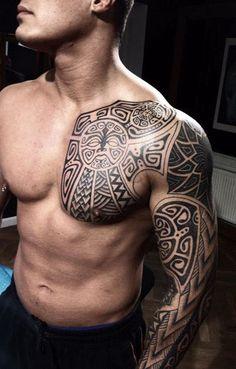 tatuaje-pecho-maori.gif 400×627 pixel