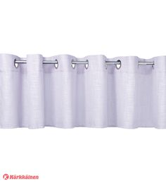 12,90 EUR | Verhokappa, jossa purjerengas ripustus.<BR><BR>• Materiaali: 100% polyesteri<BR>• Valittavissa värit: L.valkoinen, valkoinen, beige, vaalea- ja tumma harmaa, lila, lime, musta, oranssi, viinin- ja tummanpunainen<BR>• Koko: 45x250 cm<BR>• Pesuohje: 30°C vesipesu, 1 pisteen silitys<BR>