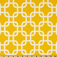 love the geometric patterned fabric